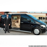 aluguel mini van blindada com motorista Brooklin